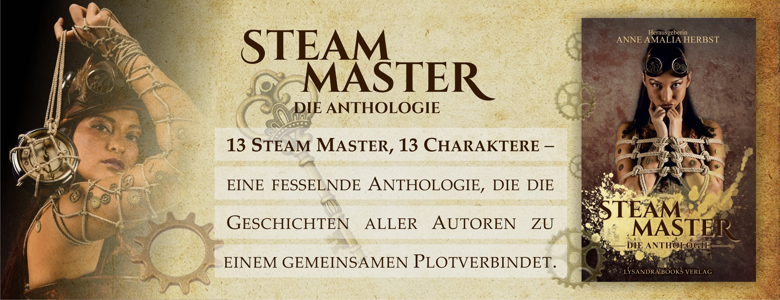 Lysandra Books - Steam Master Anthologie
